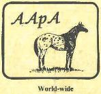 American Appaloosa Association logo