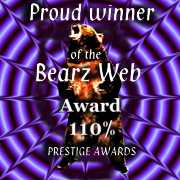BearzWeb 110% Award