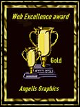 Gold Web Excellence Award